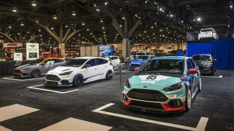 Ford spices up its hot hatchbacks for SEMA