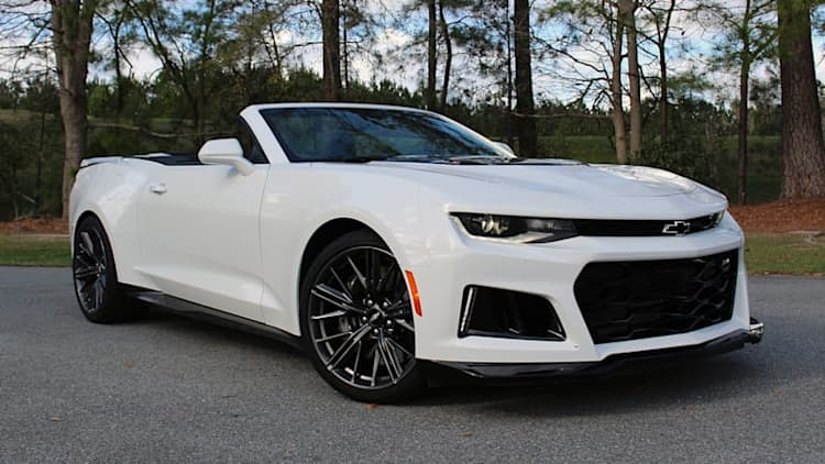 Highway attack mode | 2017 Chevrolet Camaro ZL1 Convertible First Drive