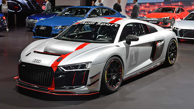 Audi R8 LMS GT4 debuts in New York, a ready-made race car