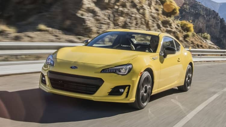 Choose the right tool   2017 Subaru BRZ Performance Package Second Drive