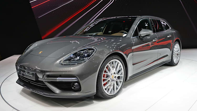 Porsche reveals the sporty 2018 Panamera Sport Turismo Wagon