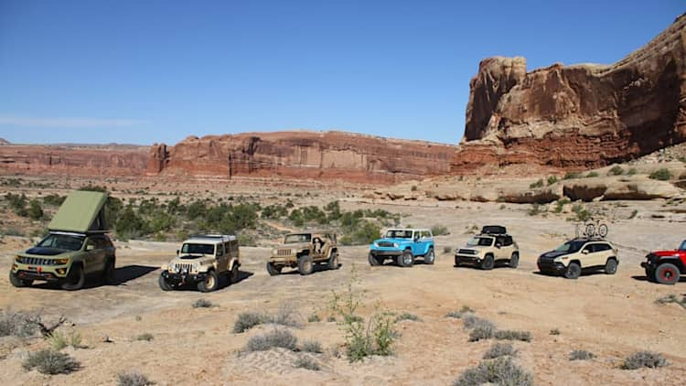 2015 Easter Jeep Safari Concepts First Drive