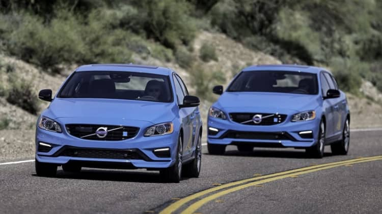 Volvo relaunches Polestar as standalone electric car brand