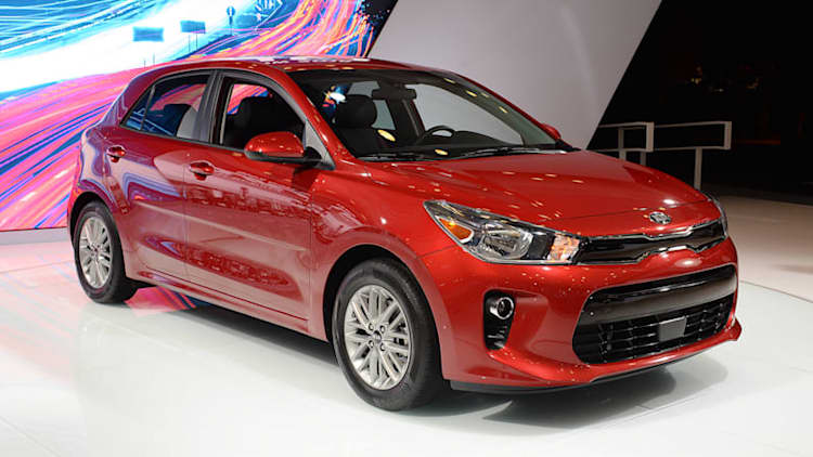 The 2018 Kia Rio makes a quiet debut in New York