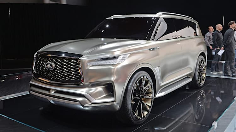 Upcoming QX80 will use current model's platform, powertrain