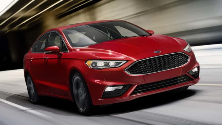 2017 Ford Fusion First Drive