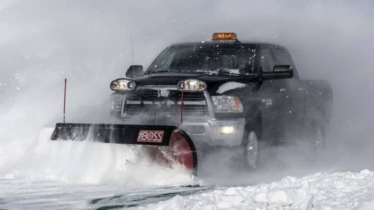 A beginner's guide to plowing snow with a heavy-duty truck