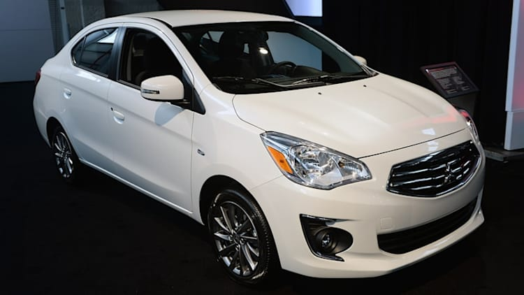 2017 Mitsubishi Mirage G4 has a trunk for your junk