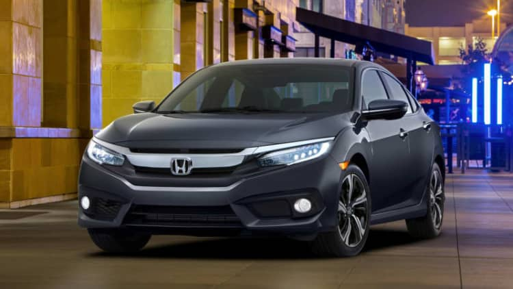2016 Civic, Sonata, Lexus RX, and Altima earn TSP+ from IIHS [w/videos]