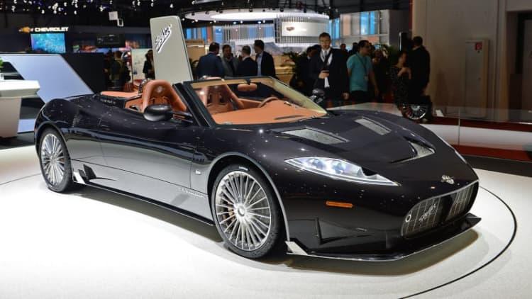 Spyker C8 Preliator to run Koenigsegg V8 engine