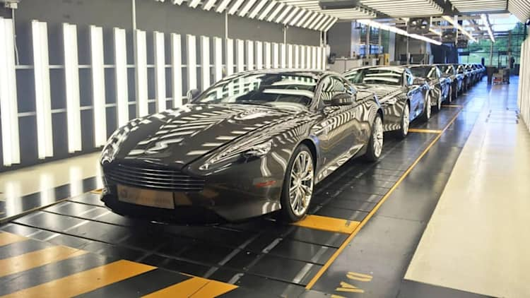 Last 9 Aston Martin DB9s roll off the line