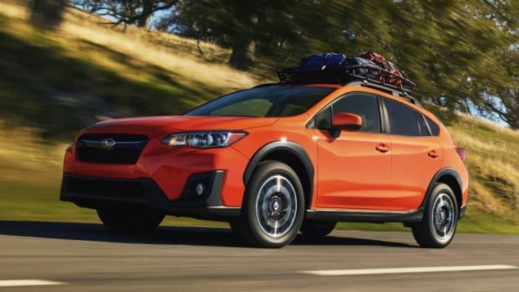 2018 Subaru Crosstrek still gets a manual transmission in the US