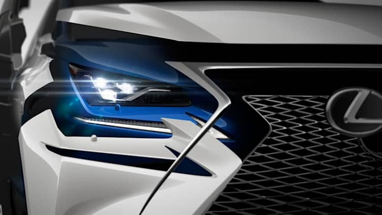 Fresh-faced Lexus NX crossover set to debut in Shanghai