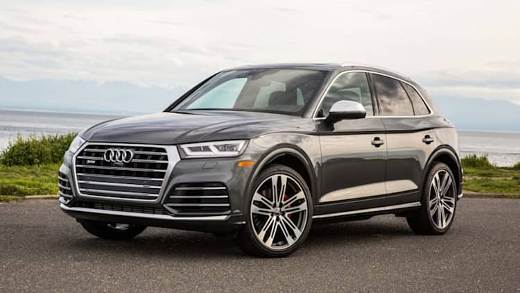 Power for the people who need crossovers | 2018 Audi SQ5 First Drive