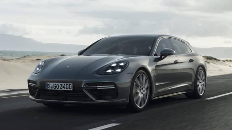 2018 Porsche Panamera Turbo Sport Turismo First Drive | This dream wagon hauls ass