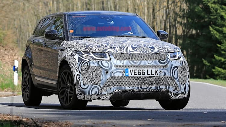 Next-generation Range Rover Evoque spied for the first time