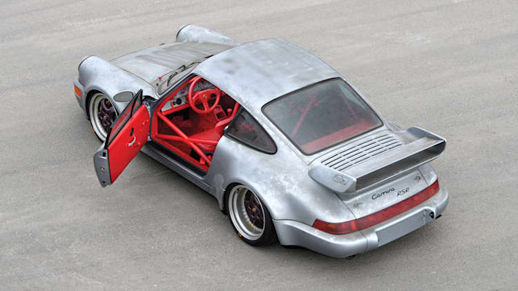 This 1-of-51 1993 Porsche 911 RSR has only 6 miles on the odometer