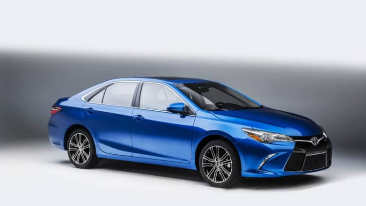 Toyota recalls over 58,000 Camry and Avalon sedans
