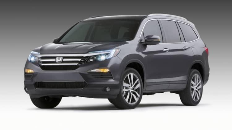 Honda recalls 2016 Pilot for warning light issue, 35k affected