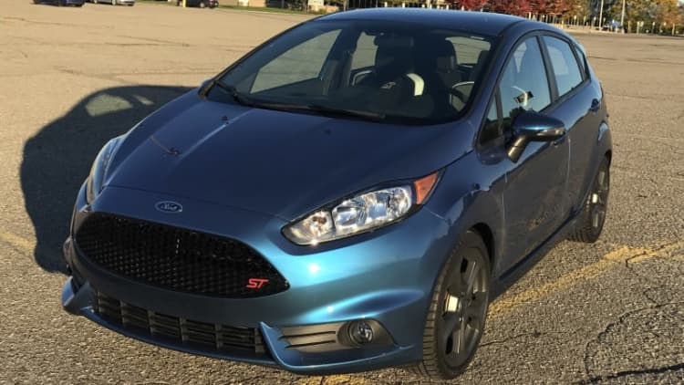 The only Liquid Blue Ford Fiesta ST could be yours
