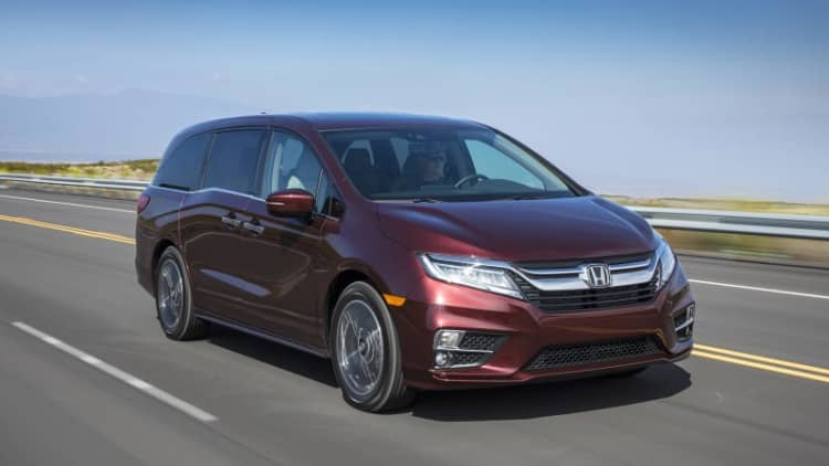 Mobile parenting tool   2018 Honda Odyssey First Drive