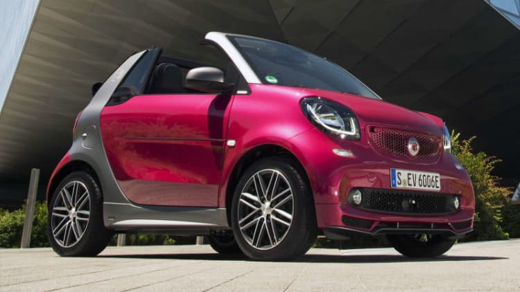 Ouch, that smarts | 2017 Smart Fortwo Electric Drive Cabrio First Drive