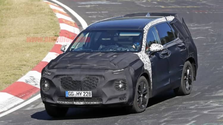 Next Hyundai Santa Fe carries Kona cues