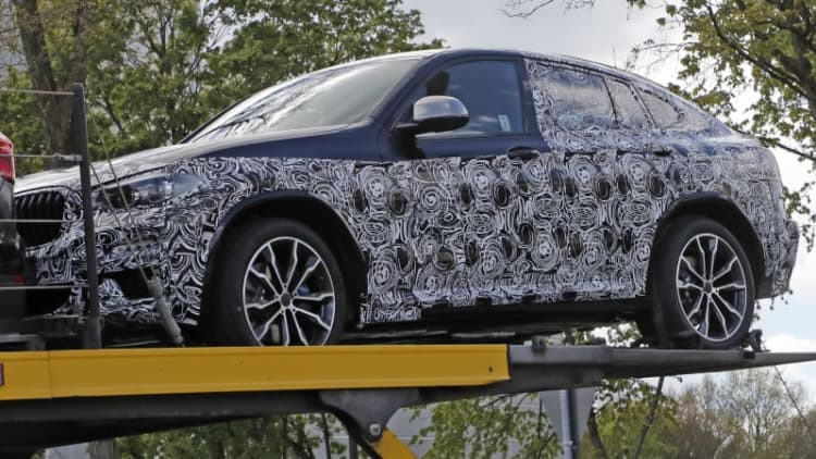 Here's your first look at the new 2018 BMW X4