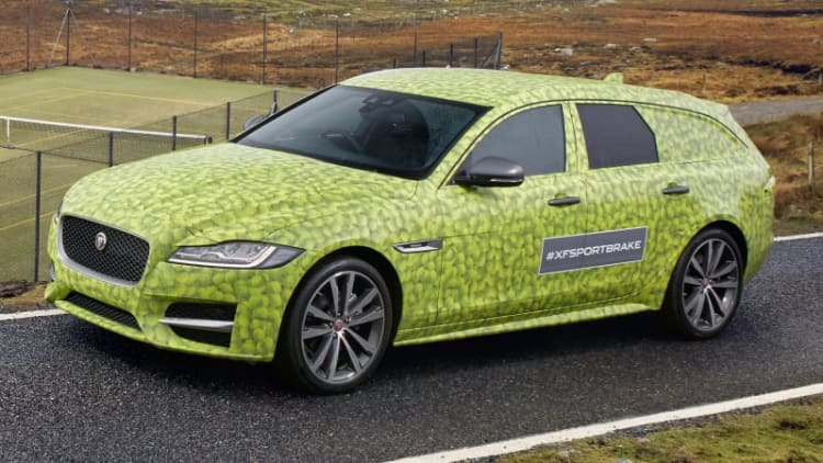 Jaguar gives us our best look yet at the XF Sportbrake wagon