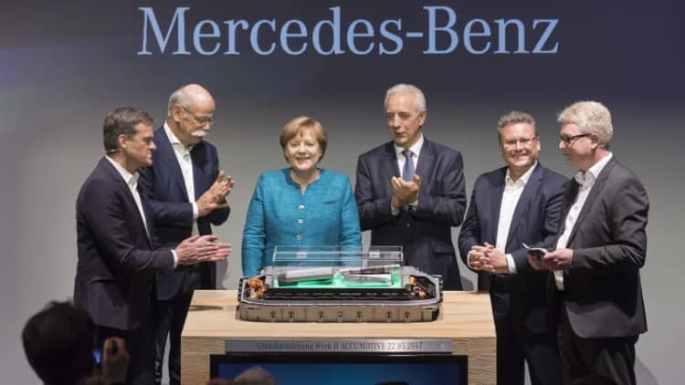 Daimler breaks ground on another battery factory for EV push