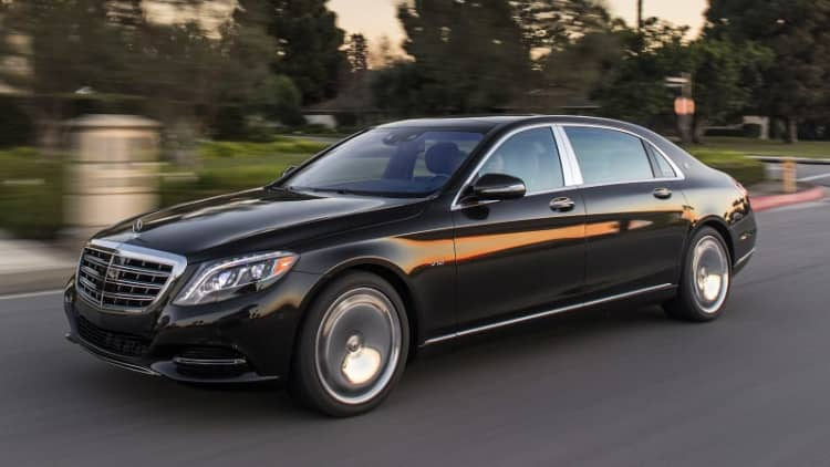 Buy a V8 Mercedes-Maybach, or splurge for a V12? Oh to have such problems