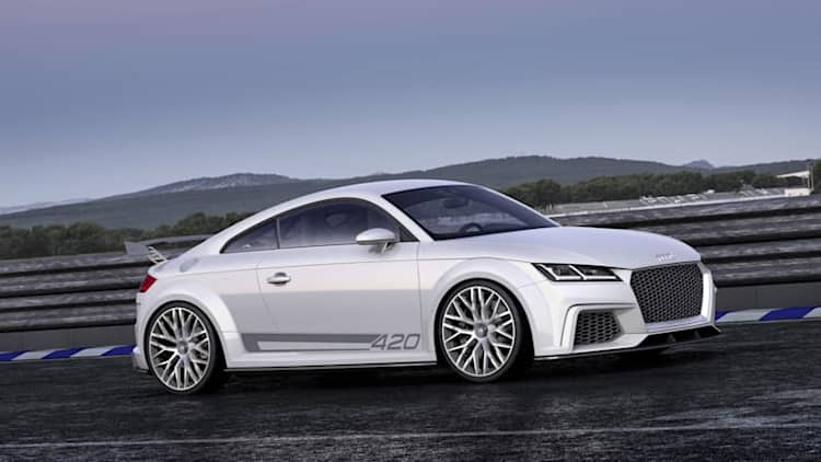 Audi kills off its 420-hp four-cylinder engine project