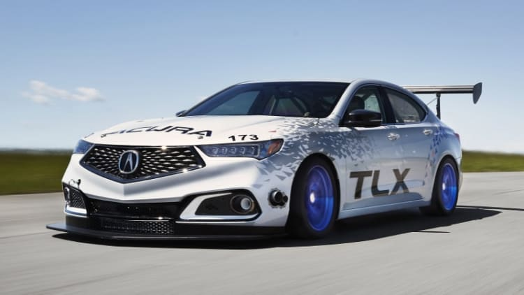 New TLX A-Spec leads Acura's three-car Pike's Peak attack