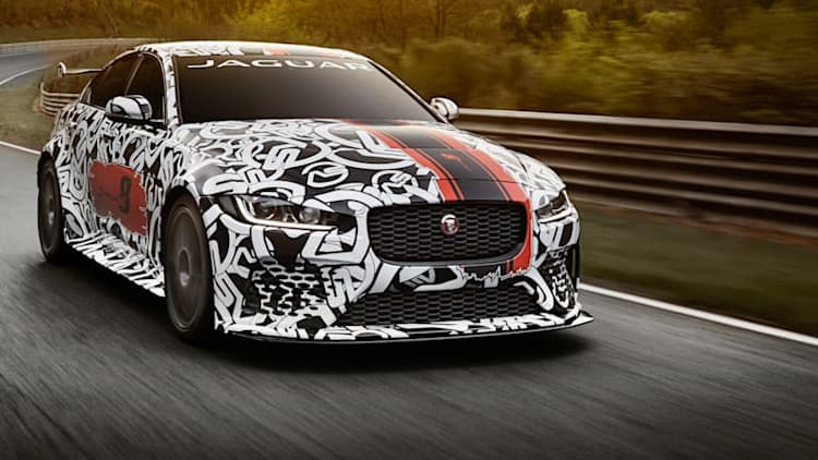 Jaguar with claws: 592-hp XE SV Project 8 Collector's Edition