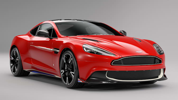 Aston Martin's Vanquish S Red Arrow aerobatics special edition is a stunning tribute