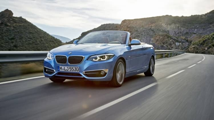 The BMW 2 Series gets the lightest of updates for 2018