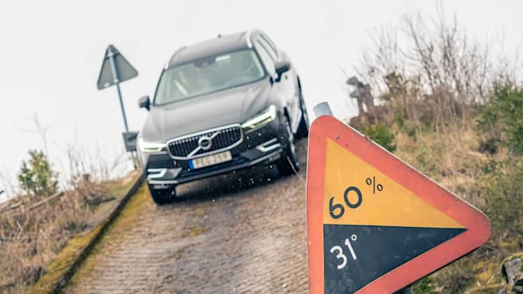 First Ride: 2018 Volvo XC60 tackles Swedish test-and-torture track