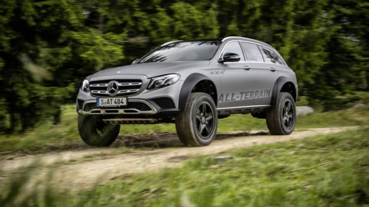 Mercedes E-Class All-Terrain 4x4-squared is the wagon of our dreams