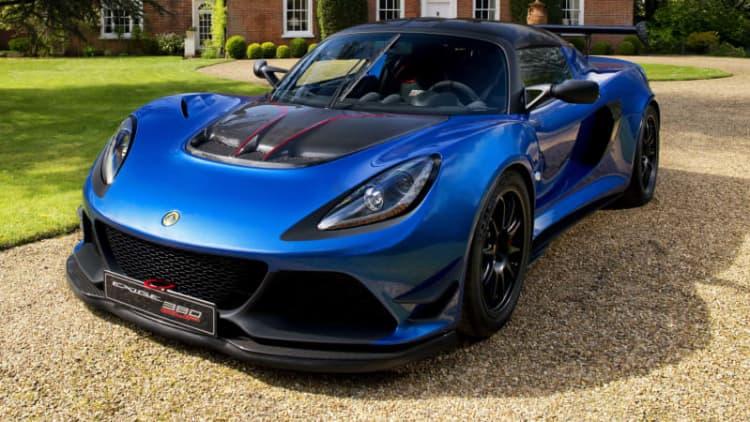 Lotus is building 60 extra light, extra aerodynamic Exige Cup 380s