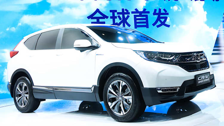 The Honda CR-V Hybrid revealed in Shanghai is probably coming to America