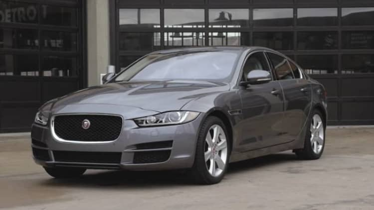 The diesel premium in our Jaguar XE quickly pays for itself