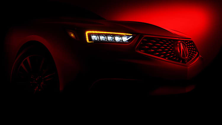 2018 Acura TLX will get the Precision concept's grille