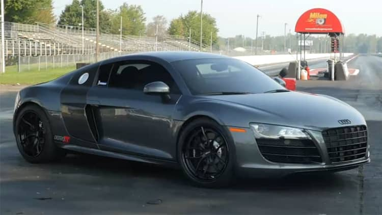 AMS Alpha 10 Audi R8 First Drive [w/video]