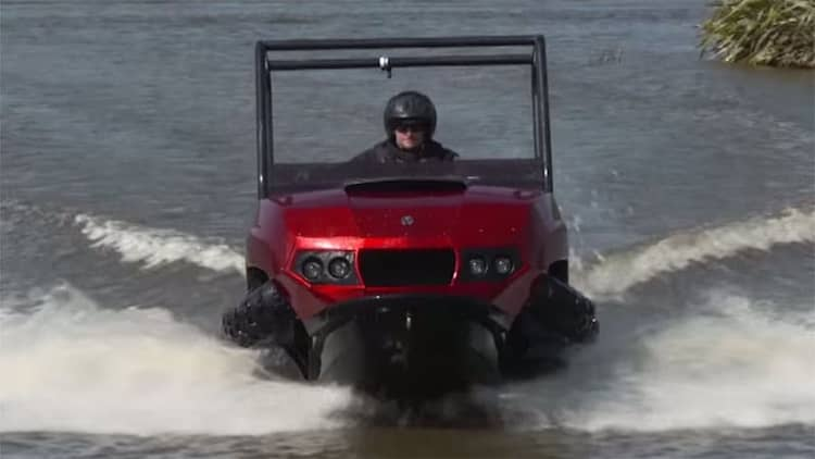 Gibbs brings three new amphibious vehicles to AIMExpo [w/videos]