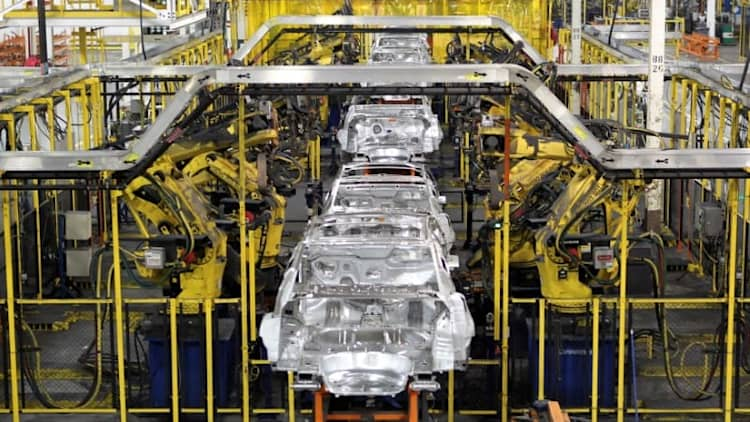 For thousands of US auto workers, the downturn is already here