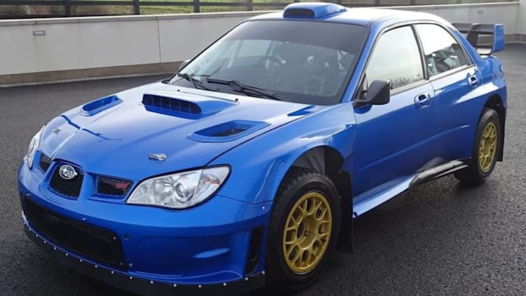 You can buy the last Subaru rally car driven by Colin McRae