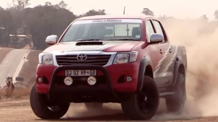 Toyota Hilux gets heart transplant from Lexus IS F