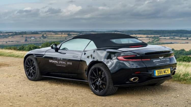 Aston teases a topless DB11 before official Spring launch