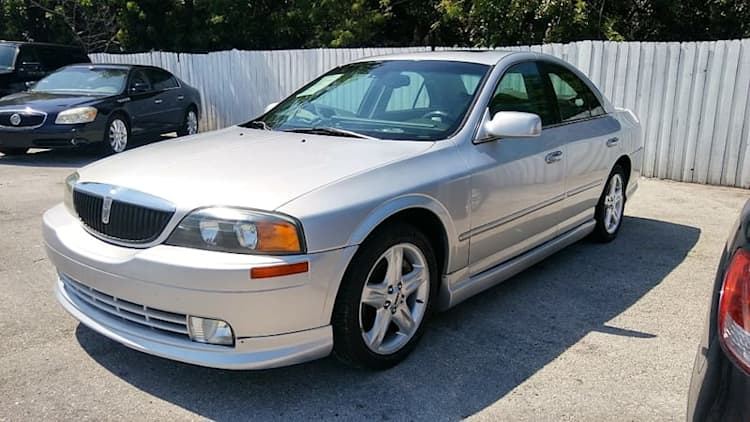 Sell your own: 2002 Lincoln LS V8