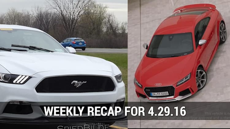 Ford Mustang Mach 1 Spied, Audi debuted the 2017 TT RS in Beijing   Autoblog Minute